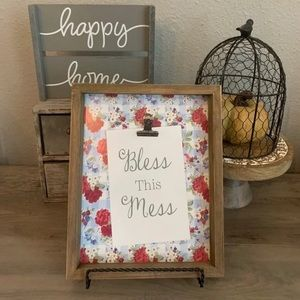 New Pioneer Woman Bless this mess sign